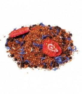 Saveur baies sauvagesIngrédients:Rooibos naturel*, arôme naturel, baie de sureau*, mûre*, fraise*, fleurs de b