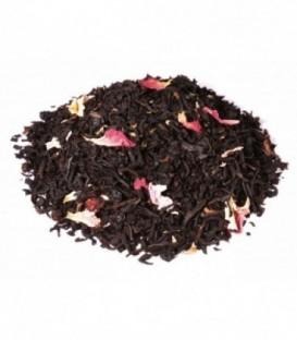 Ingrédients:Thé noir Assam*, -Inde du Sud*, arôme naturel, baie de sureau*, fraise*, gros