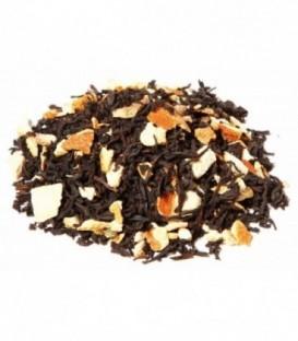 Saveur orangeIngrédients:Thé noir Assam*, -Inde du Sud*, écorces d'orange* (9%), arôme naturel.*Issu de