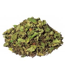 Saveur menthe poivréeIngrédients:Thé vert China Gunpowder*, menthe poivrée*, arôme naturel. *Issu de l'a