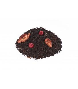 Ingrédients:Thé noir Assam*, -Inde du Sud*, arôme naturel, aronia*,fraise*, fram