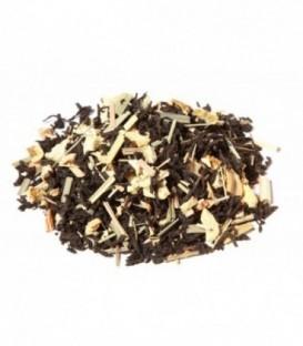 Ingrédients:Thé noir Assam*, -Inde du Sud*, gingembre *(12%), citronnelle*, arôme natur