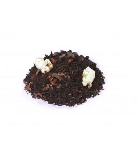 Saveur café-chocolatIngrédients:Thé noir Assam*, -Inde du Sud*, coing*, arôme naturel, raisin* (raisin, huile