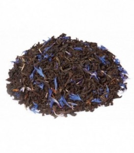 Ingrédients:Thé noir Assam*, -Inde du Sud*, arôme naturel, fleurs de bleuet**Issu de l'a
